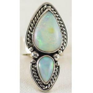 NEW OOAK Ethiopian Opal Ring